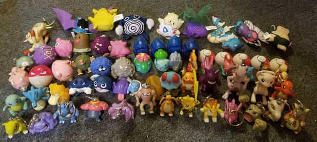 'Pokémon' Set Of 57: $... is listed (or ranked) 1 on the list Burger King Toys That Are Worth An Insane Amount Of Money Today