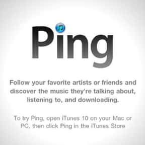 iTunes Ping is listed (or ranked) 14 on the list Dead Social Media Platforms You Wish Were Still Around