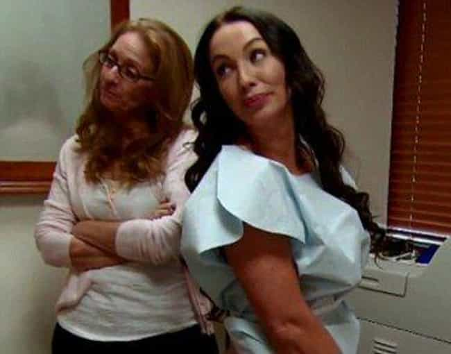 Just Say No To Implants In You... is listed (or ranked) 4 on the list The Worst Plastic Surgery Horror Stories From 'Botched'