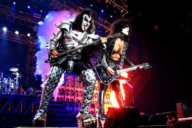 The Band's Management Ran Roug... is listed (or ranked) 4 on the list KISS Stories That Earn Them The Title Of