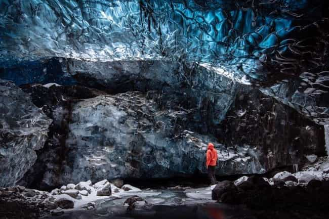 An Awe-Inspiring Glacial Forma... is listed (or ranked) 1 on the list These Photos From Inside A Glacier Will Take Your Breath Away