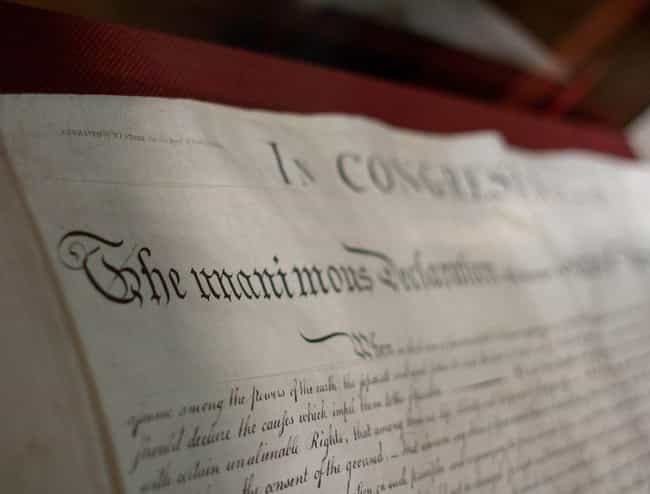 The Signing Of The Declaration... is listed (or ranked) 6 on the list Historical Events You Most Want To Go Back and See