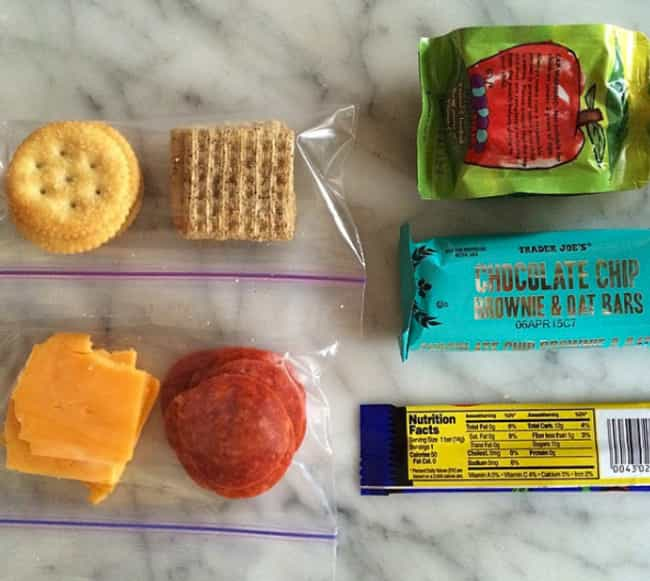 Create DIY Lunchables is listed (or ranked) 1 on the list Lunchbox Hacks That Make Packing School Lunches Legitimately Fun