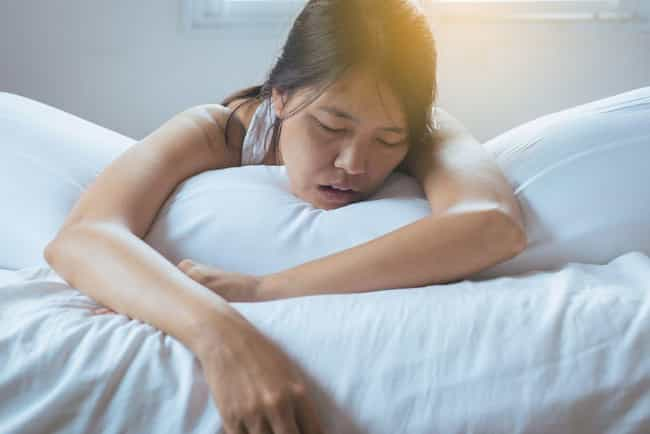Snoring Can Spur Cancerous Tum... is listed (or ranked) 2 on the list Snoring Isn't Just Annoying, It Can Also Be Dangerous