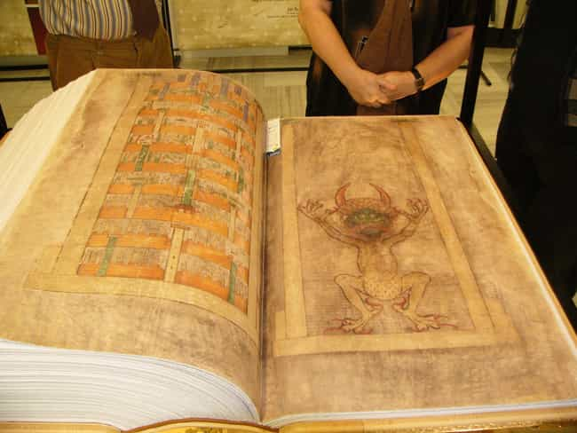 The Codex Contains The Christi... is listed (or ranked) 2 on the list The Purposely Cut Pages From 'The Devil's Bible' May Outline An Unspeakable Ritual