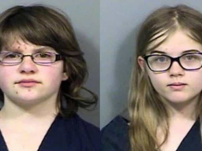 Anissa Weier And Morgan Geyser... is listed (or ranked) 1 on the list 16 Kids Whose Crimes Were So Brutal, They Were Tried As Adults