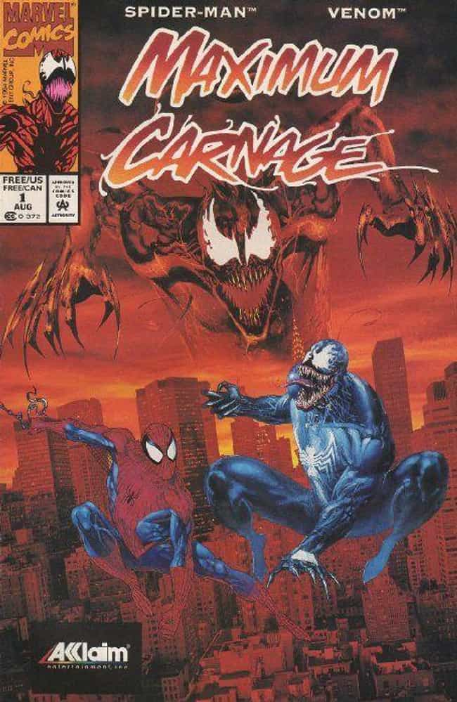 Maximum Carnage is listed (or ranked) 3 on the list The Best 'Venom' Storylines In Comics