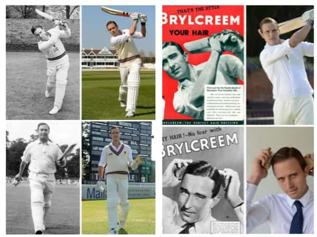 A Cricket Player's Grandso... is listed (or ranked) 4 on the list 26 Times People Recreated Their Grandparents' Photos