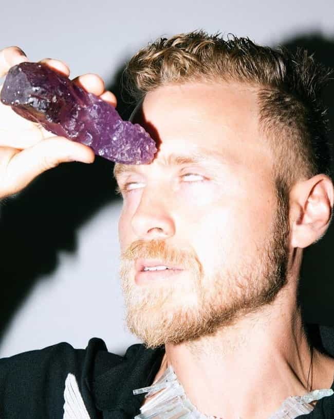 Spencer Sells Healing Crystals... is listed (or ranked) 4 on the list Inside The Lives Of Speidi, The Villainous Reality Show Couple That's Still Obsessed With Themselves