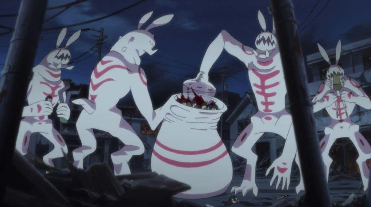 Bunny Beasts Makes A Bloody Sm is listed (or ranked) 2 on the list 18 Times Anime Massacres Were Total Bloodbaths