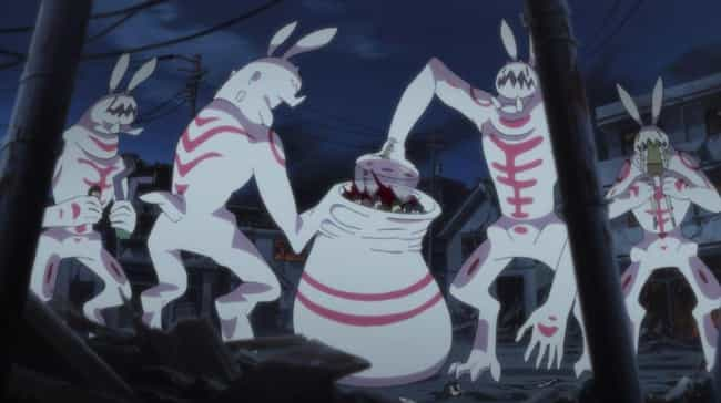 Bunny Beasts Makes A Blo... is listed (or ranked) 1 on the list 13 Shocking Anime Massacres That Claimed A Ton of Lives