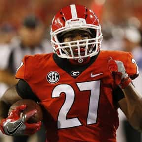 Nick Chubb is listed (or ranked) 9 on the list The Best University of Georgia Football Players of All Time