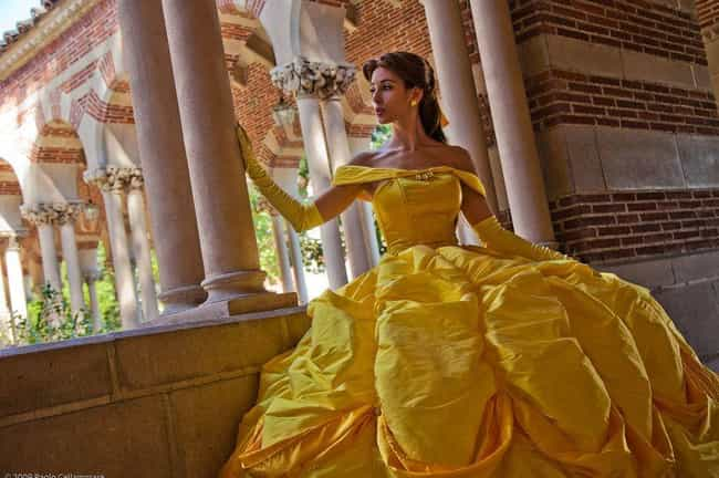 The Belle Of The Cosplay Ball is listed (or ranked) 2 on the list Disney Princess Cosplay Is Magic For Your Eyeballs
