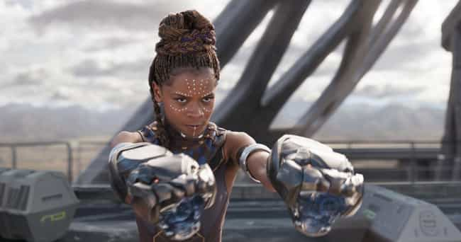 The Female Stars Of Blac... is listed (or ranked) 2 on the list Here's Why The Makeup In 'Black Panther' Is So Revolutionary