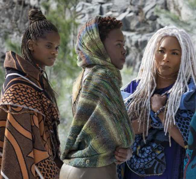 The Hair And Makeup In Black P... is listed (or ranked) 1 on the list Here's Why The Makeup In 'Black Panther' Is So Revolutionary