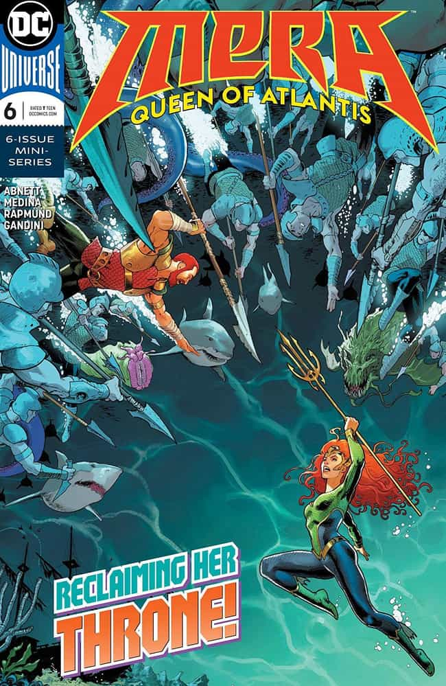 Mera Is From Xebel, An A... is listed (or ranked) 2 on the list Everything You Need To Know About Mera, Queen Of Atlantis And Aquaman's Wife