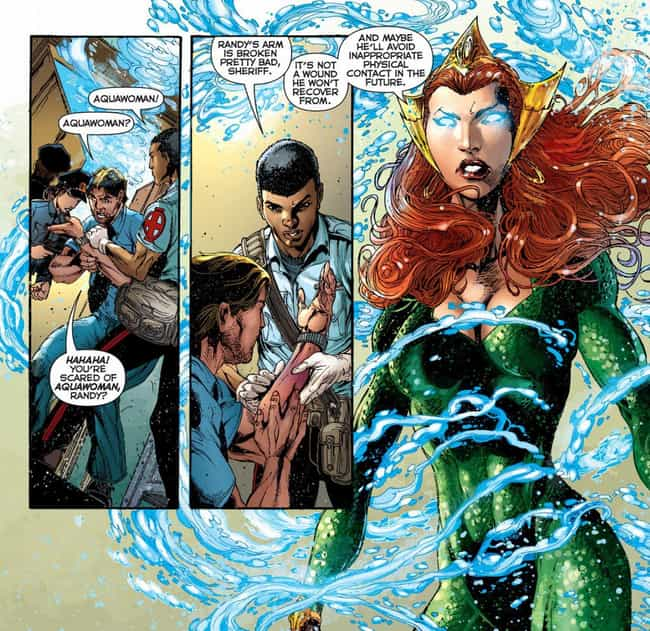 She Distrusts The Surfac... is listed (or ranked) 4 on the list Everything You Need To Know About Mera, Queen Of Atlantis And Aquaman's Wife