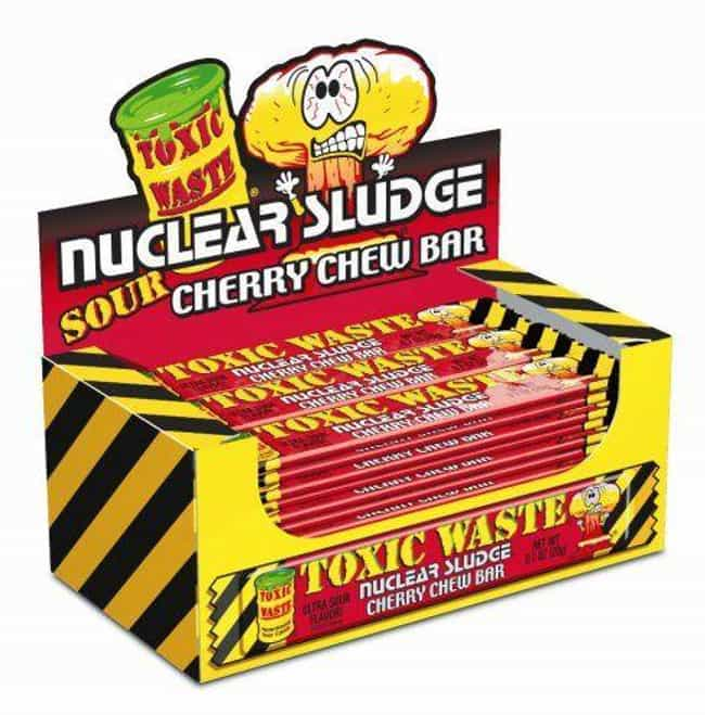 Toxic Waste Nuclear Sludge Che... is listed (or ranked) 2 on the list Candies That Were Pulled For Being Too Dangerous