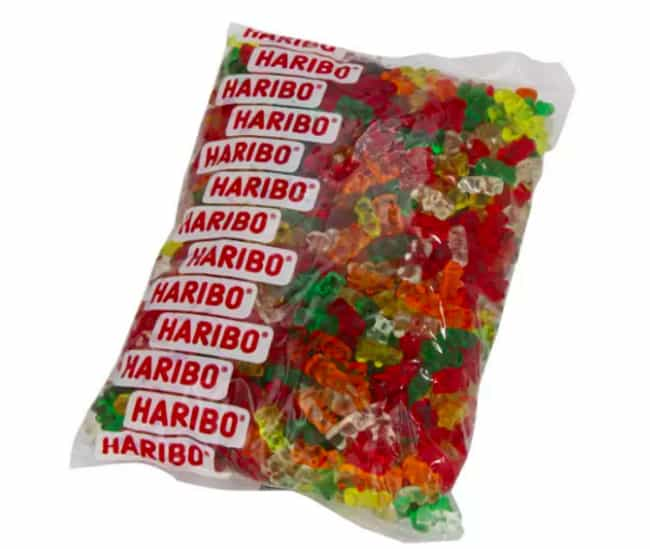 Haribo Sugar-Free Gummy Bears is listed (or ranked) 3 on the list Candies That Were Pulled For Being Too Dangerous