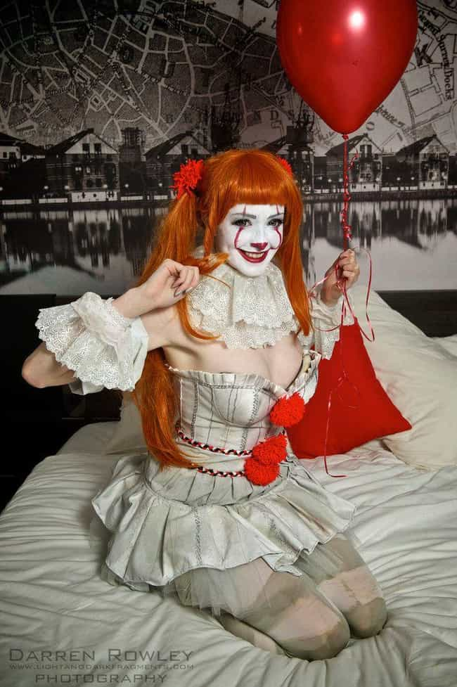 Pennywise Is Always Dang... is listed (or ranked) 4 on the list These Pennywise Cosplays Will Both Intrigue And Confuse You