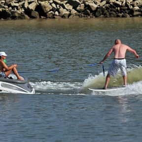 Wakesurfing is listed (or ranked) 19 on the list The Best Water Sports