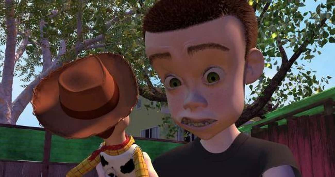 Sid From The Original 'Toy Story' Grows Up To Be The Garbage Person In 'Toy Story 3' (And Becomes A Hero!)