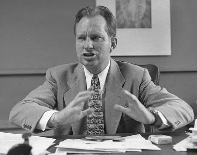 L. Ron Hubbard Believed He Was... is listed (or ranked) 1 on the list Scientology Was Inspired By Black Magic, And L. Ron Hubbard Believed He Was The Devil