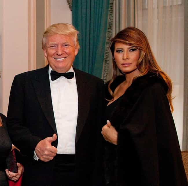 Donald And Melania Have ... is listed (or ranked) 1 on the list What Would Happen If The President Donald Trump Got A Divorce?