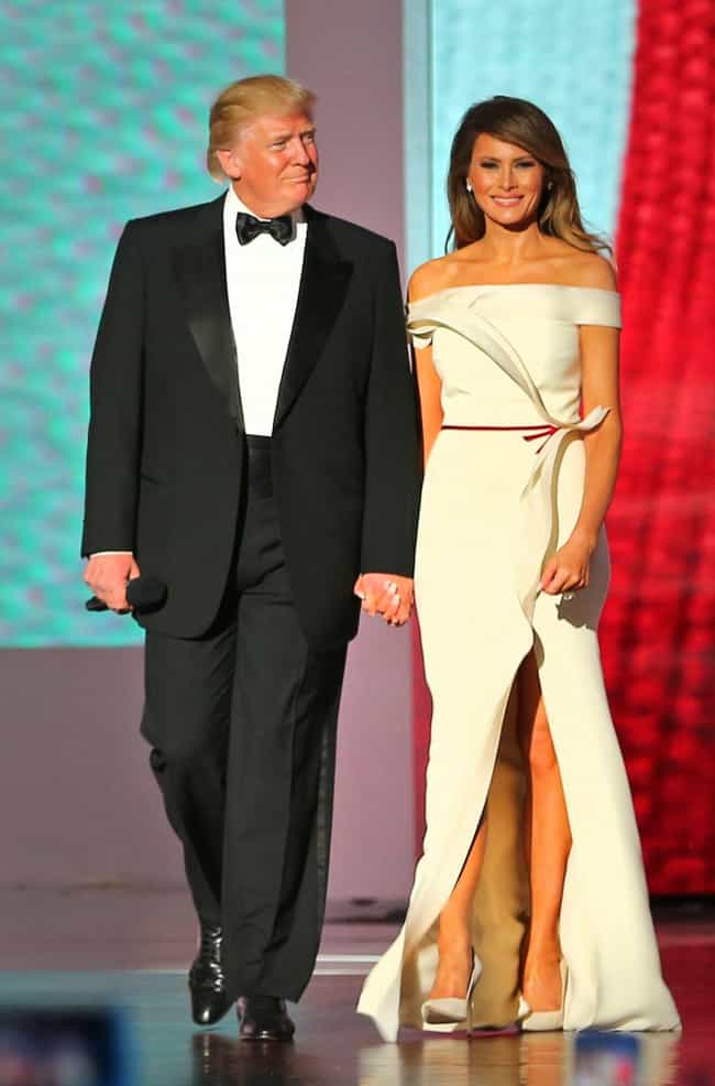 Melania Could Hypothetic... is listed (or ranked) 3 on the list What Would Happen If The President Donald Trump Got A Divorce?