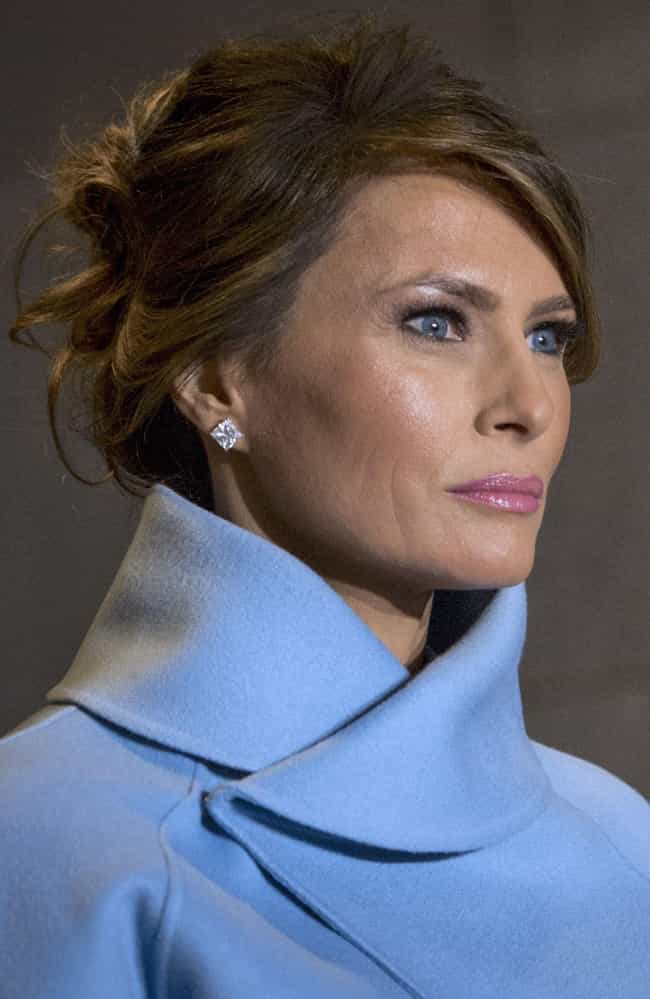 Melania Would Hightail I... is listed (or ranked) 4 on the list What Would Happen If The President Donald Trump Got A Divorce?