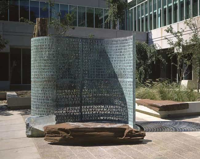 Kryptos Was The Winning Entry ... is listed (or ranked) 1 on the list An Artist Created An Encrypted Sculpture So Complicated That The CIA Can't Even Crack It