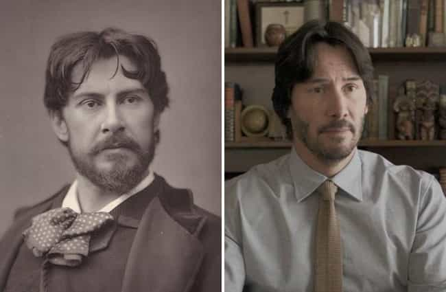 He's Lived As Multiple Differe... is listed (or ranked) 1 on the list There's An Insane (But Kind Of Believable) Theory That Keanu Reeves Is Immortal