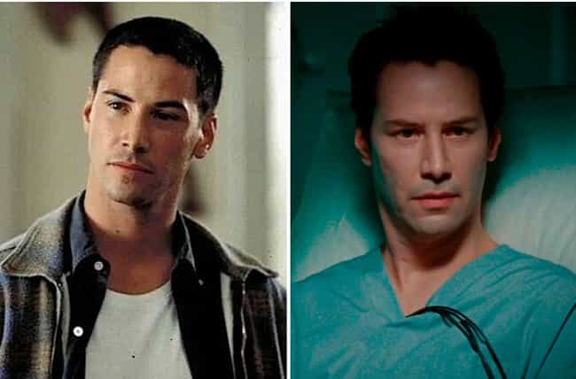 He Doesn't Seem To Age is listed (or ranked) 2 on the list There's An Insane (But Kind Of Believable) Theory That Keanu Reeves Is Immortal