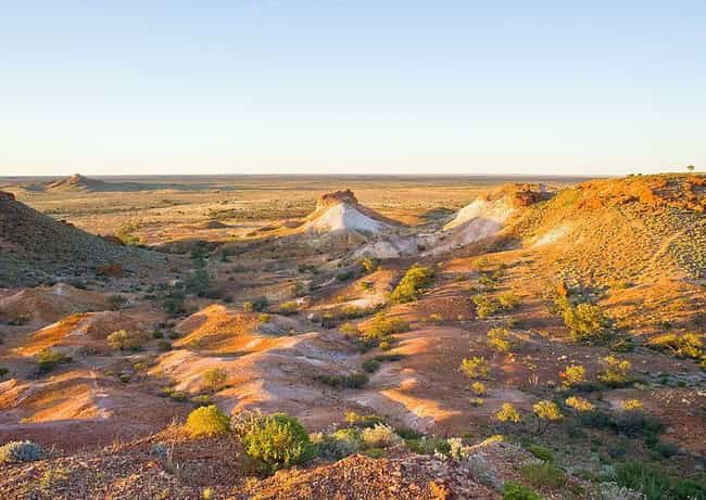 It's So Hot Grass Does Not... is listed (or ranked) 4 on the list Inside Coober Pedy, Where Almost Everyone Lives Underground