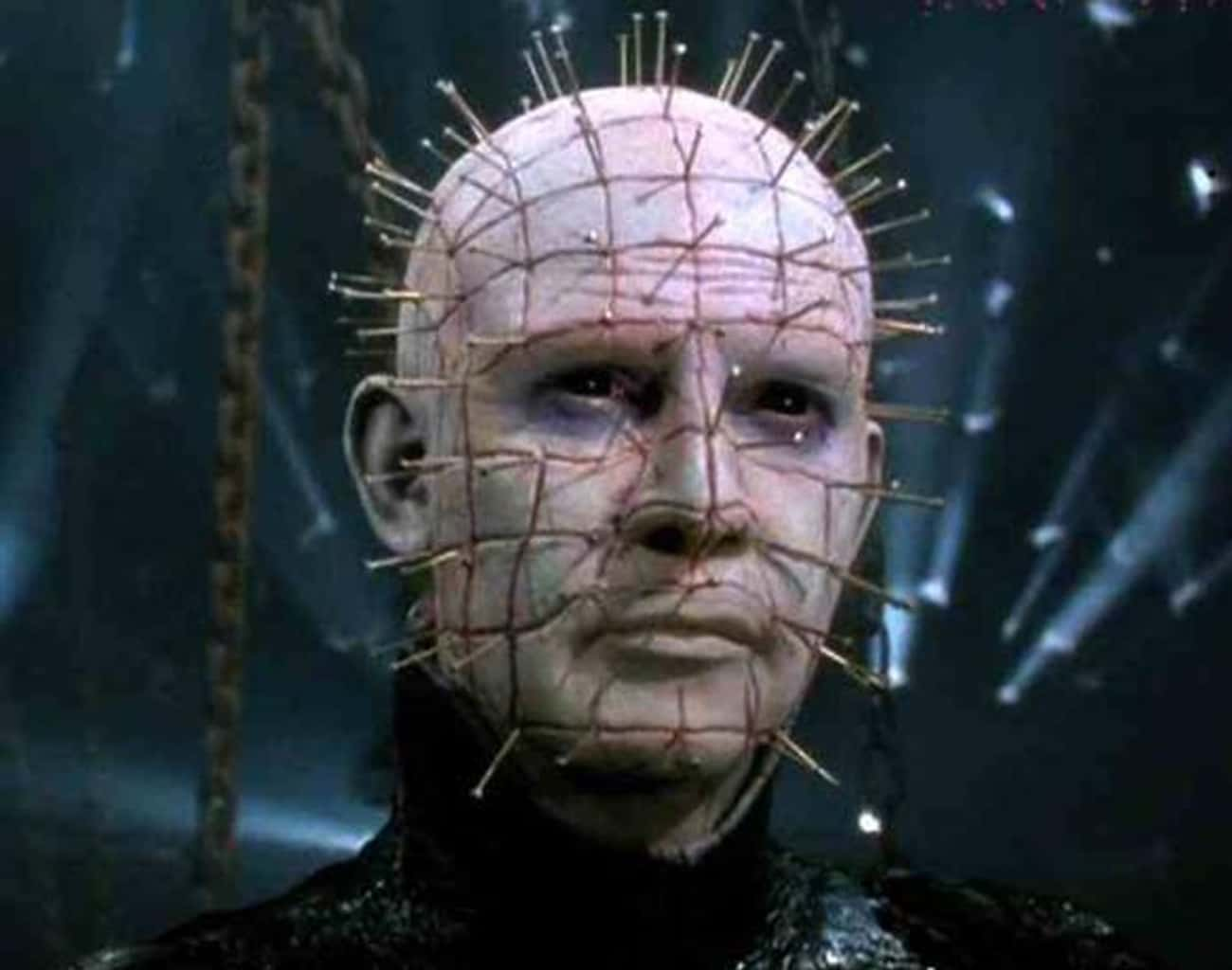 He's The Embodiment Of An  is listed (or ranked) 1 on the list The Strange And Elaborate Backstory Of Pinhead From 'Hellraiser'
