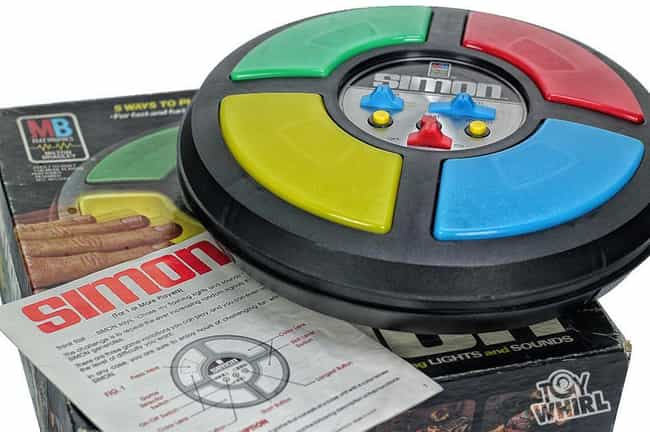 1978: Simon is listed (or ranked) 4 on the list What Was The Biggest Toy The Year You Were Born?