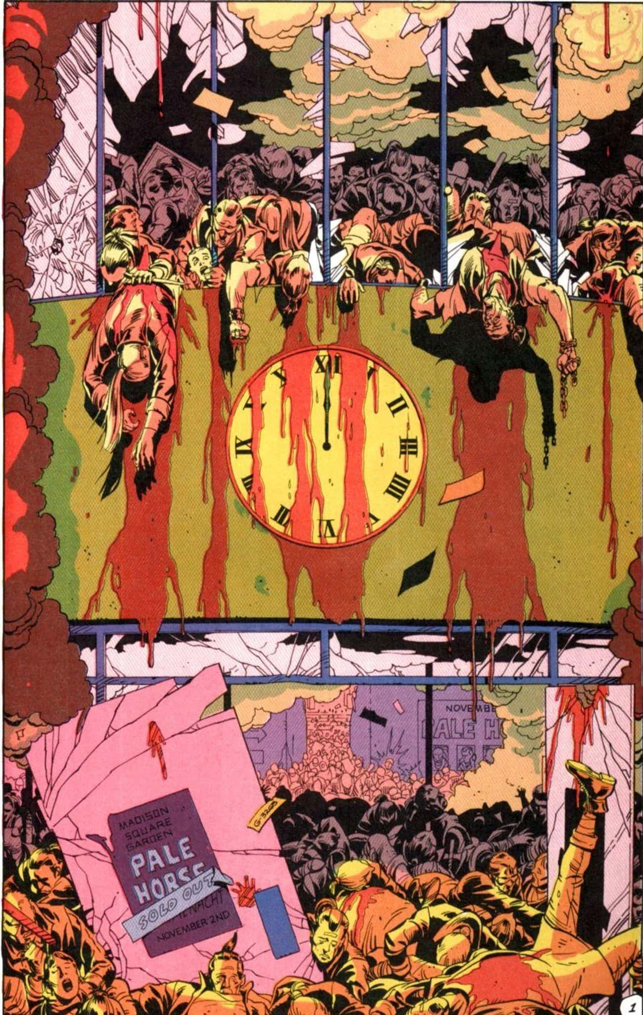 Ozymandias Kills Millions Of P is listed (or ranked) 3 on the list Most Violent Moments In The 'Watchmen' Universe