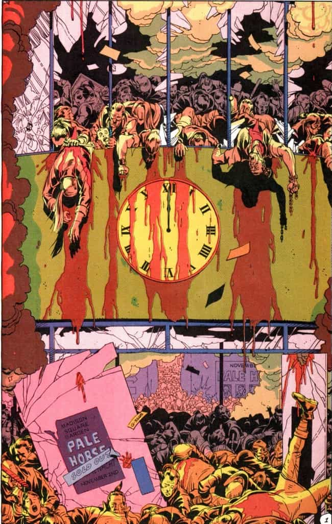 Ozymandias Kills Millions Of P... is listed (or ranked) 3 on the list Most Violent Moments In The 'Watchmen' Universe