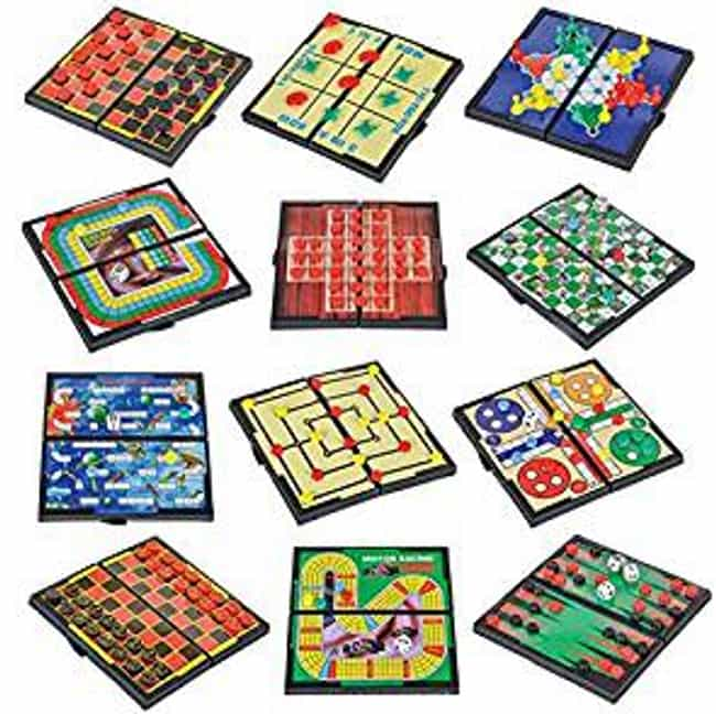 Miniature Games Entertained So... is listed (or ranked) 2 on the list The Family-Friendly Milton Bradley Corporation Has A Bizarre History