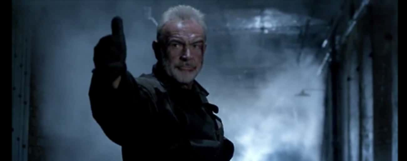 Sean Connery's Character I is listed (or ranked) 1 on the list Action Movie Fan Theories That Change Everything