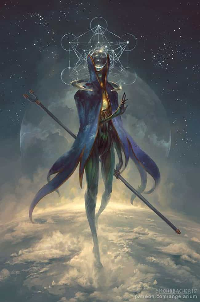 Eistibus, Angel Of Divination is listed (or ranked) 1 on the list This Artist Creates Otherworldly Angels That Take Sci-Fi To A Whole New Level