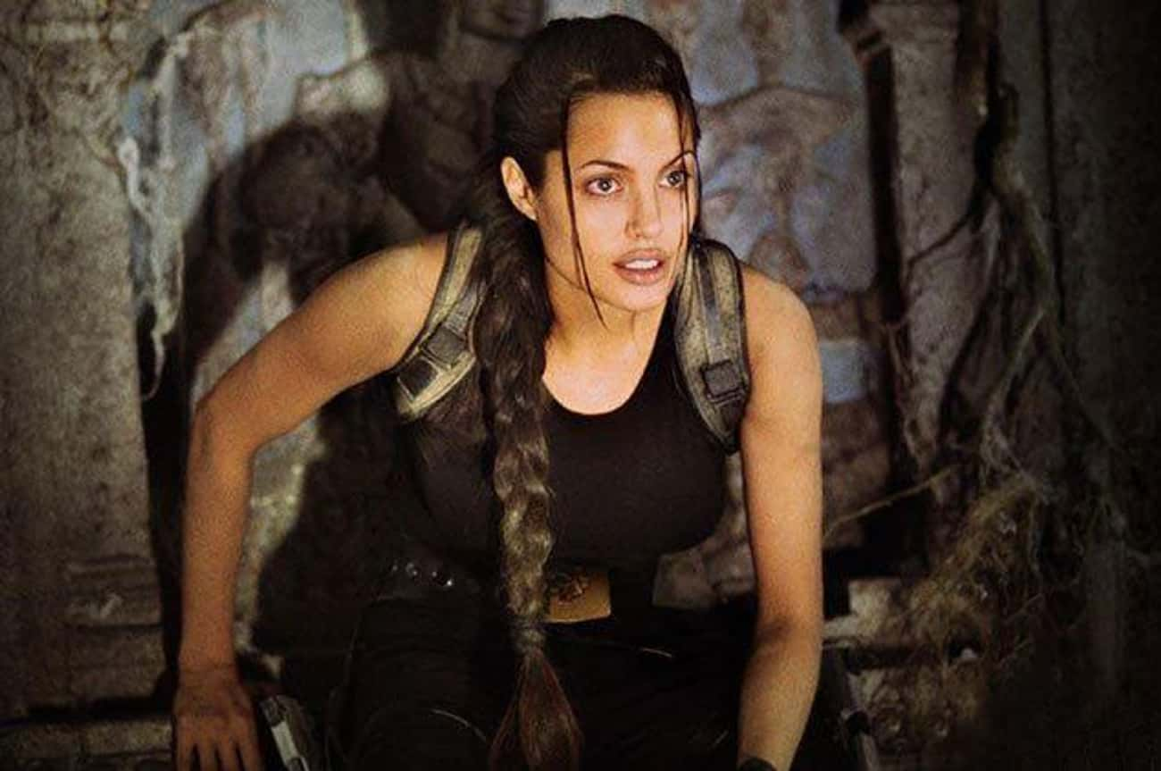 Angelina Jolie Had A Handler W is listed (or ranked) 2 on the list Behind The Scenes Stories From Lara Croft: Tomb Raider