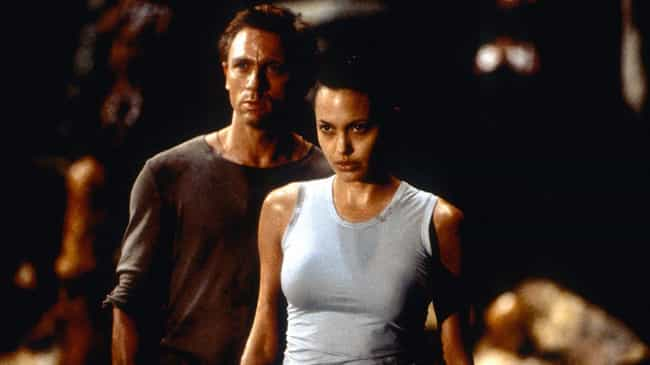 Angelina Jolie's Handler W... is listed (or ranked) 3 on the list Behind The Scenes Stories From Lara Croft: Tomb Raider