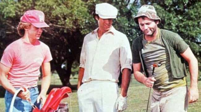 Cocaine Use Around Set Was So ... is listed (or ranked) 4 on the list Drug-Fueled Stories From Behind The Scenes Of Caddyshack