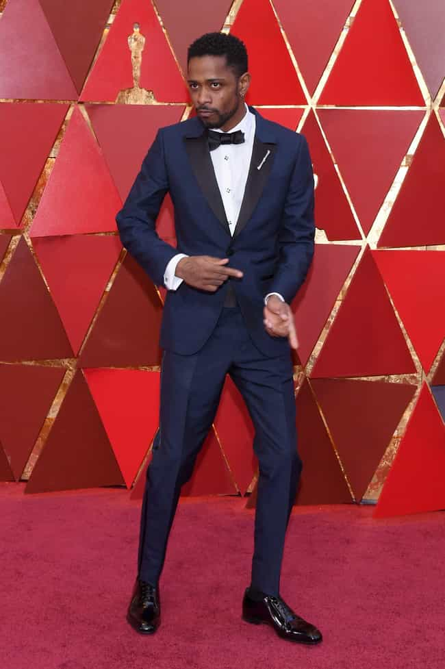 Lakeith Stanfield is listed (or ranked) 3 on the list Best Dressed Celebs At The 2018 Oscars