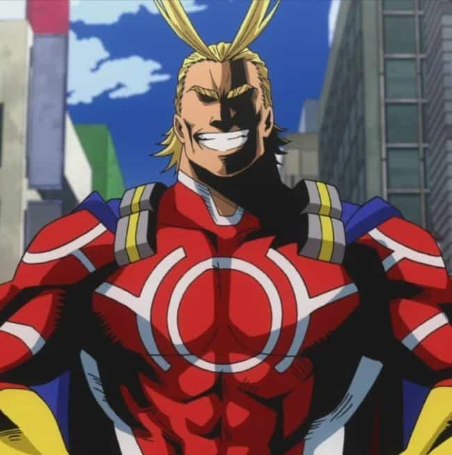 Started Down This Path ... is listed (or ranked) 2 on the list The Best All Might Quotes From My Hero Academia