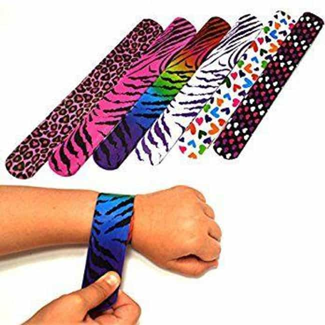 1988: Slap Bracelets Became Po... is listed (or ranked) 3 on the list The History Of Every Teen Bracelet Fad