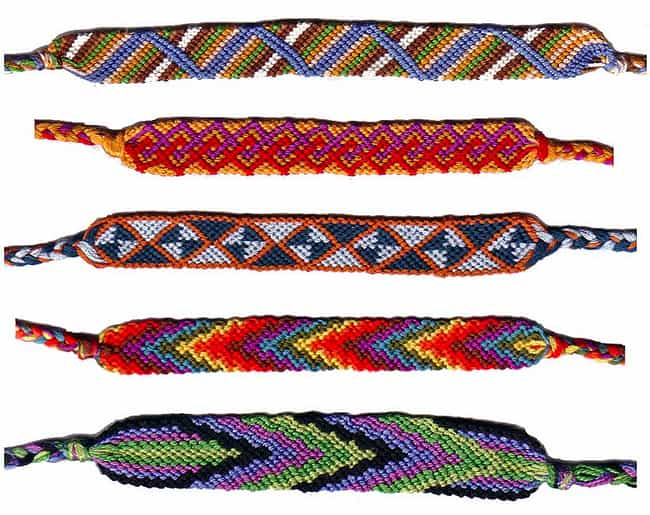 1985: Friendship Bracelets Rei... is listed (or ranked) 2 on the list The History Of Every Teen Bracelet Fad