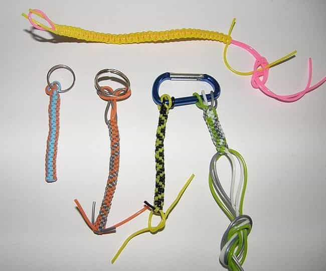 1995: Lanyards Gave New Life T... is listed (or ranked) 4 on the list The History Of Every Teen Bracelet Fad