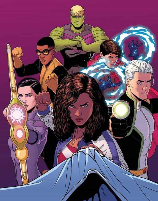 The Young Avengers is listed (or ranked) 6 on the list Post-Black Panther, Here Are Some Other Heroes The MCU Badly Needs To Bolster Its Diversity